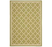 Qvc Outdoor Rugs Safavieh Lattice 8 U0027 X 11 U0027 Indoor Outdoor Rug Page 1 U2014 Qvc Com