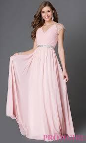 cap sleeve long white chiffon dress promgirl