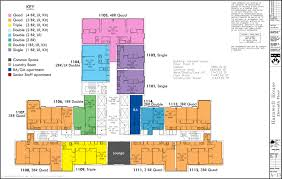 High Rise Floor Plans by Floor Plans College Houses U0026 Academic Services