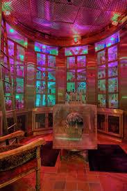classic interior design with russian decor of red square