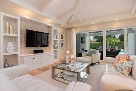 Built In Shelves Living Room Basement Tv Built In Living Room Transitional With White Cabinets