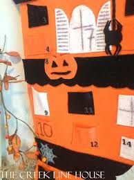 pottery barn kids inspired halloween countdown calendar the