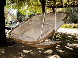 cobble mountain hammock chair double real goods