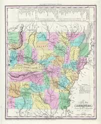 Ar Map Antique Maps Of Arkansas