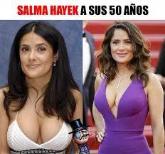 Salma Hayek Meme - dopl3r com memes salma hayek a sus 50 años