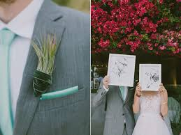 Groom S Boutonniere Palm Springs Wedding For A Creative Bride And Groom Ruffled