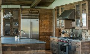rustic kitchen cabinets with glass doors 75 beautiful rustic kitchen with glass front cabinets