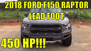 Ford Raptor Truck Colors - 2018 ford f150 raptor lead foot color exterior walkaround