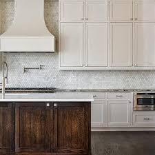 White Hex Kitchen Backsplash Tiles Design Ideas - Hexagon tile backsplash