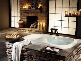 stunning bathroom with candle lighting idea and classic fireplace stunning bathroom with candle lighting idea and classic fireplace stone