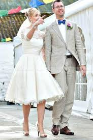 popular short vintage country style wedding dress buy cheap short