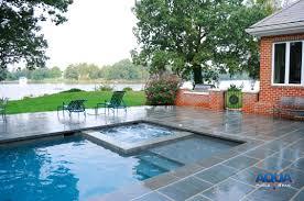 custom spas custom gunite tubs aqua pools u0026 spas easton maryland