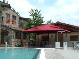 Giant Patio Umbrella by Commercial Telescopic Umbrellas The Shade Experts Usa