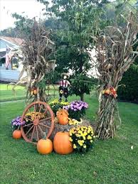 Mailbox Decorations For Fall Wood Design Ideas Yard Decorating