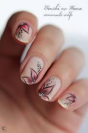 nail art nail art pictures nailart floral designs french acrylic