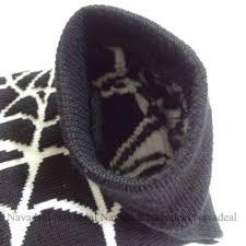 Spider Halloween Costume Black Spiderman Spider Long Arm Warmer Fingerless Gloves
