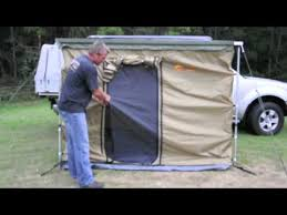 4 Wheel Drive Awnings Side Walls U0026 Floor For Pull Out Awning Youtube