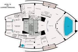 presidential penthouse level 74 penthouse floor plan