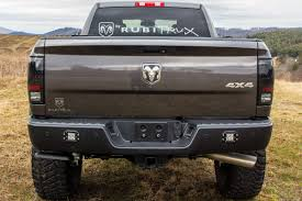 dodge ram custom rear bumper 2017 dodge ram 2500 granite