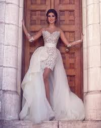detachable wedding dress short wedding dress wedding dress