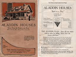 two of the earliest aladdin homes oklahoma houses by mail