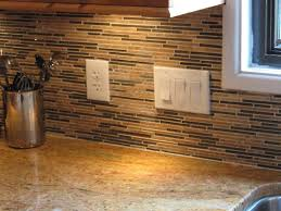 unusual cream black colors mosaic tile kitchen backsplash color