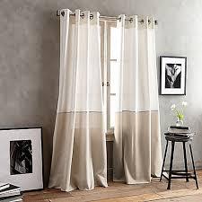 Alton Solid Grommet Window Curtain Panel Dkny Color Band Grommet Top Window Curtain Panel Bed Bath U0026 Beyond