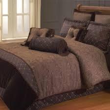 bedroom modern geometrical pattern for modern chocolate beddign