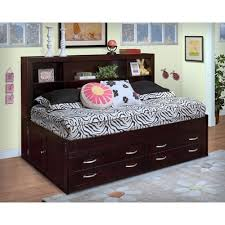 full size beds with drawers new classic malibu full lounge bed