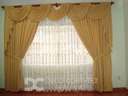cenefas de tela para cortinas tipos de cortinas modernas ideas de disenos ciboney net