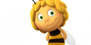 maya bee flying clipart collection