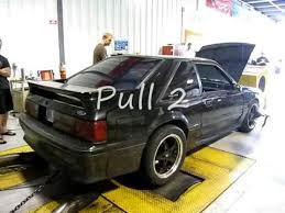 Black Fox Body Mustang Black Foxbody Mustang Dyno Youtube