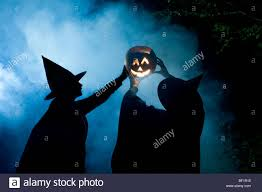 halloween witches prepares to celebrate the pagan new year and