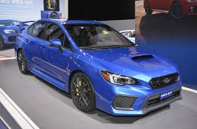 subaru blue 2017 2018 subaru wrx and wrx sti debut at 2017 detroit auto show