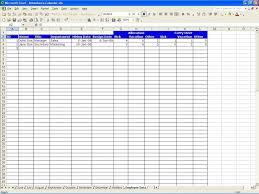Safety Tracking Spreadsheet Sample Spreadsheet Data Haisume