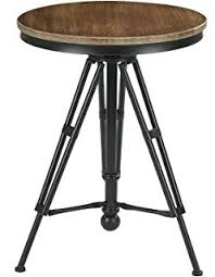 Industrial Bistro Table Belleze Adjustable Pub Table And Stools Vintage