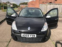 renault clio 5 door 1 2 59 2010 plate in hull east yorkshire