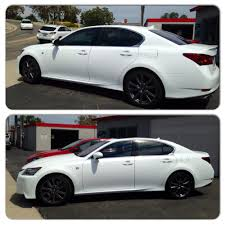 lexus gs 350 san diego 2014 lexus gs350 tint with 3m crystalline 70 on the front