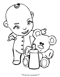 coloring pages baby bottle kids drawing coloring pages
