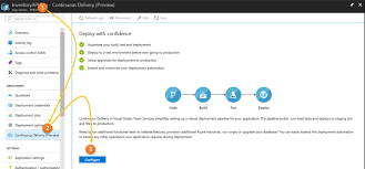 delivery service app setting up continuous delivery for azure app services from azure