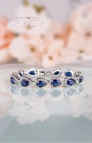 something blue wedding harmonia sapphire blue silver bridal bracelet something blue