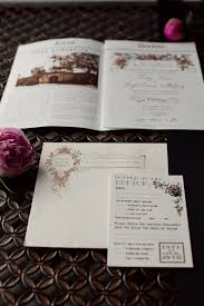 Newspaper Wedding Program Jos Lindsay U0027s Newspaper Wedding Invitations