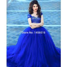 royal blue wedding dresses 2017 strapless royal blue bridesmaid