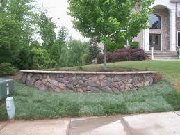 garden retaining wall ideas fresh glancing billyfront yard