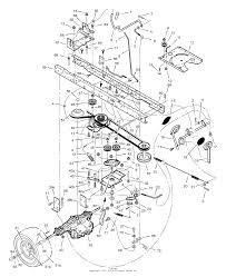 murray 465306x8b lawn tractor 2005 parts diagrams