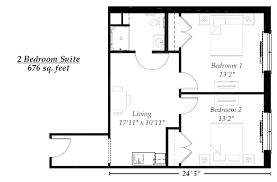 spectacular idea 2 bedroom house floor plans bedroom ideas