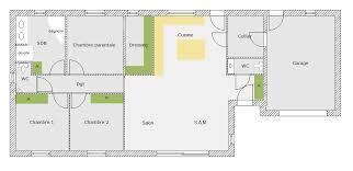 plan plain pied 4 chambres maison 130m2 plan plain pied 4 chambres immobilier pour tous