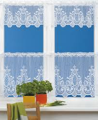 Blue Kitchen Curtains Blue And White Kitchen Curtains Christmas Lights Decoration