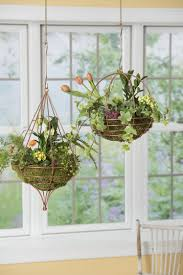 Hanging Pictures by Teardrop Shaped Copper Wire Hanging Basket Terrarium For Air Plants