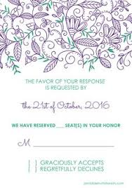 free pdf download wedding invitation and rsvp watercolor flowers
